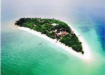 Selingan Island van boven - Selingan Island - Maleisië