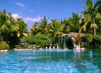 zwembad - Damai Beach Resort - Kuching - Maleisië