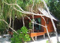 chalet van buiten Lankayan Island Dive Resort - Lankayan Island Dive Resort - Maleisië