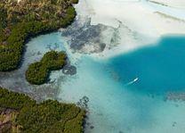 uitmonding rivier - Mauritius