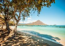 Strand bij Hotel The Sands - The Sands - Mauritius