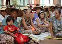ceremonie in de omgeving van Hsipaw - Hsipaw - Myanmar - foto: Floor Ebbers