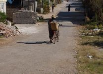 Myanmar fietser, Kalaw - Myanmar - foto: Archief