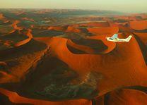 Vliegtuig over Sossusvlei - Sossusvlei - Namibië - foto: Agent