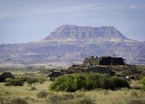 uitzicht vanuit Doro Nawas - Doro Nawas - Namibië - foto: Lokale agent