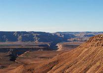 uitzicht over Fish River Canyon - Fish River Canyon - Namibië - foto: rechtenvrij