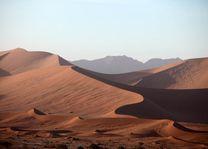 duinen in de Sossusvlei - Sossusvlei - Namibië - foto: rechtenvrij