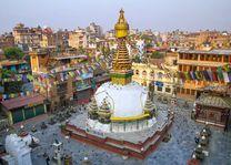 Kathesimbu Stupa Buddha in Kathmandu - Nepal - foto: Archief