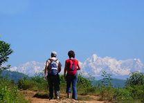 mensen aan het wandelen in Balthali - Balthali - Nepal - foto: Archief