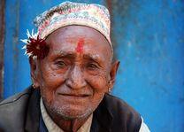 Portret man - Nepal - foto: Archief