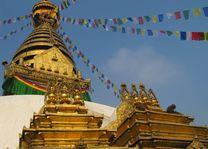 Swayambhunath tempel, Kathmandu - Kathmandu - Nepal - foto: Mieke Arendsen
