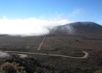 weg door lava gebied 2 - Piton de la Fournaise - Réunion