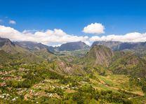 Landschap van Cirque de Salazie - Cirque de Salazie - Réunion - foto: Archief