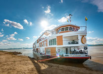 schip - The Strand Cruise - Mandalay - Myanmar - foto: The Strand Cruise
