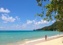 Strand van Beau Vallon - Beau Vallon - Seychellen - foto: Archief