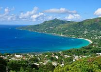 Bay of Beau Vallon, Mahé - Mahé - Seychellen - foto: Archief