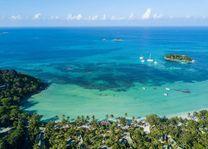 luchtfoto van Paradise Sun (3) - Paradise Sun - Seychellen - foto: Paradise Sun