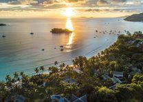 zonsondergang bij Paradise Sun - Paradise Sun - Seychellen - foto: Paradise Sun