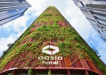 Singapore - Oasia hotel - duurzaam
