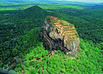 Lions Rock van bovenaf - Sigiriya - Sri Lanka