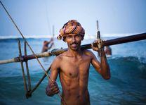 Visser - Sri Lanka - foto: Archief