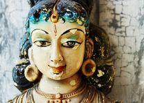 Hindu vrouw beeldje - Sri Lanka