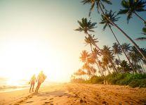 Romantische strandwandeling - Sri Lanka - foto: Archief