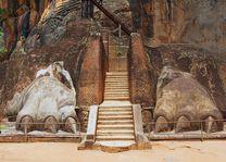 Sigiriya Lion rock fortress in Sigiriya, Sri Lanka - Sri Lanka - foto: Archief