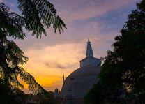 Rond gebouw in Sri Lanka 1 - Sri Lanka - foto: Archief