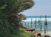 Vissers in Gale - Sri Lanka - foto: Natascha Russchenberg
