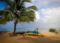 strand Dolphin Beach Resort in Kalpitiya - Dolphin Beach Resort - Sri Lanka - foto: Mieke Arendsen