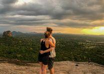stelletje Pidurangala - Pidurangala - Sri Lanka - foto: Mieke Arendsen
