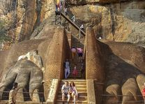 voet Lion's Rock - Sri Lanka - foto: Mieke Arendsen
