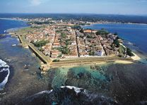 Galle Fort vanuit de lucht - Galle - Sri Lanka - foto: lokaal agent