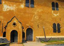 Galle koloniale muur - Galle - Sri Lanka - foto: lokaal agent
