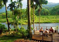 uitzicht van Borderlands in Kitulgala (2) - Borderlands - Sri Lanka - foto: Borderlands