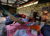 lounge van Borderlands in Kitulgala - Borderlands - Sri Lanka - foto: Borderlands
