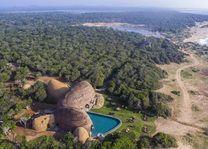 luchtfoto van Wild Coast Yala (1) - Wild Coast - Sri Lanka - foto: Wild Coast