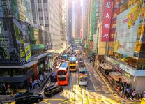 straatbeeld - Hong Kong - foto: unsplash