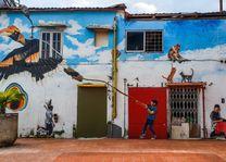 Street art in Kuching - Sarawak - Maleisië - foto: flickr