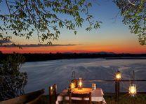 Bush dinner - Rufiji River Camp - Tanzania