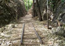spoorlijn hellfire pass museum - Kanchanaburi - Thailand