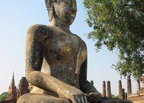 boeddhabeeld - Sukhothai - Thailand