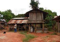 hmong dorp - Chiang Khien - Thailand