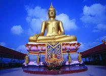 grote boeddha  - Koh Samui - Thailand