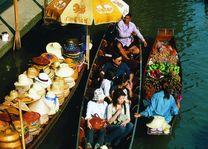 drijvende markt - Thailand