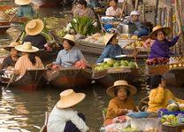 Floating market Bangkok - Bangkok - Thailand