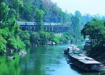 Trein - Kanchanaburi - Thailand