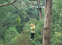 Flight of the Gibbon - Chiang Mai - Thailand - foto: Floor Ebbers