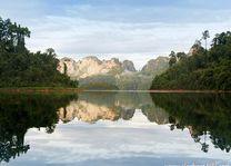 Landschap Khao Sok National Park - Khao Sok - Thailand - foto: Elephant Hills